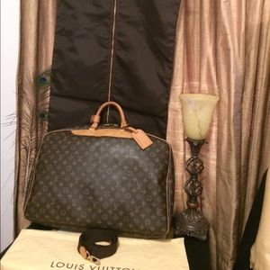 Louis Vuitton Alize 1 Poche Suitcase Single Zipper